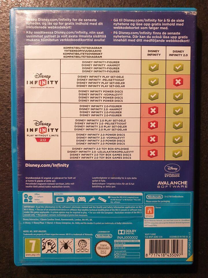 Disney INFINITY 2.0 - Play Without Limits, Nintendo Wii U,