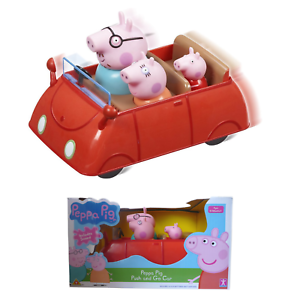 Peppa Pig Toy Push /& Go Voiture Avec Peppa caractères Figure inclus NEUF