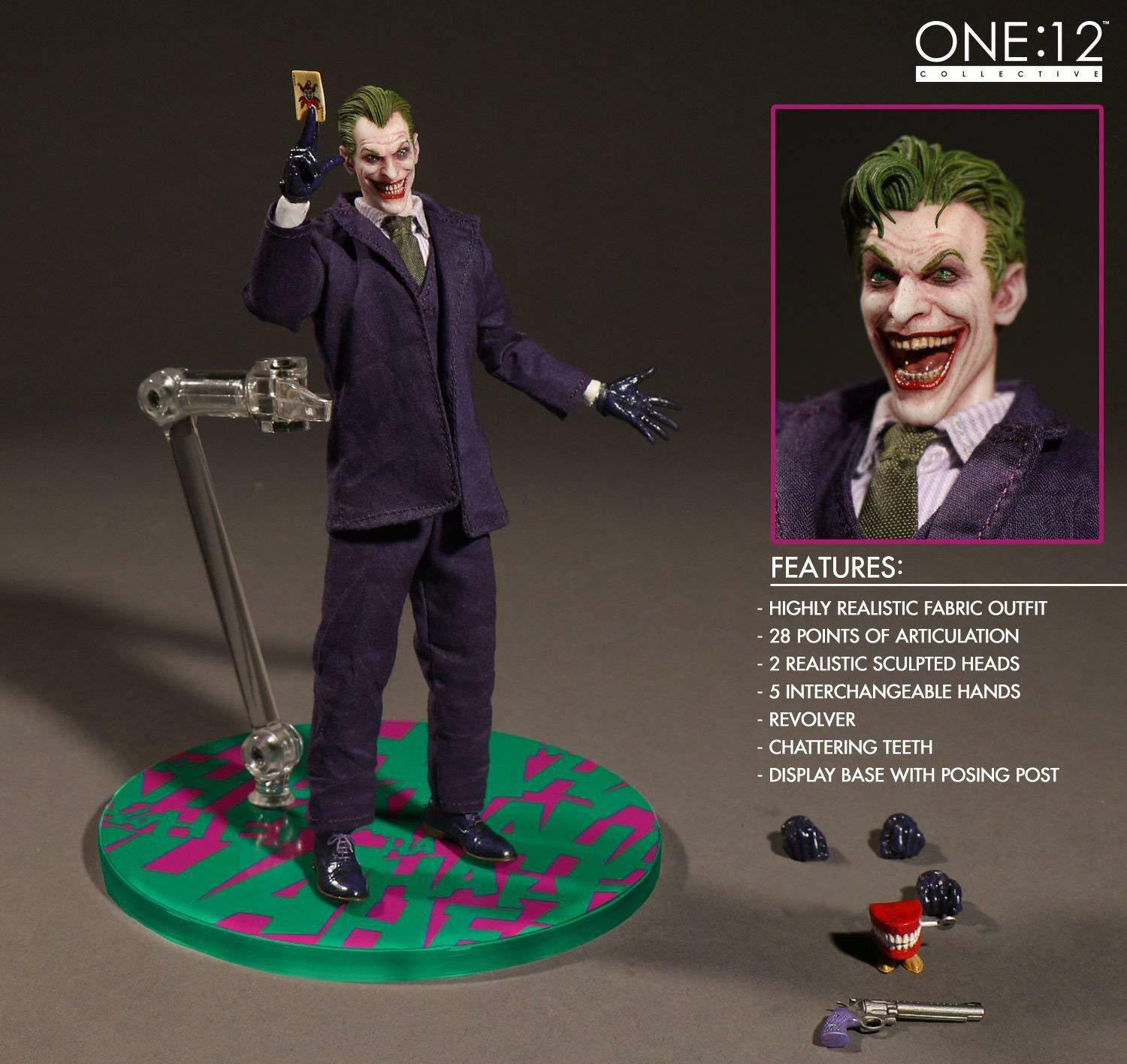The Joker (Batman) Mezco One:12 Collective Action Figures