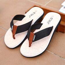 Men's Summer Outdoor Flip Flops Beach Shoes Sandals Household Anti-slip Slippers