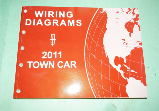 2011 Lincoln Town Car Evtm Wiring Diagrams Service Shop Repair Manual Book