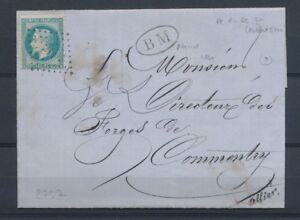 1869-Lettre-N-29-Obl-PCduGC211-Aubusson-BM-AHUN-les-MINES-CREUSE-22-X2808