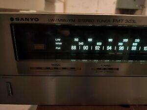 SANYO FMT-303L - STEREO - TUNER RADIO - SINTONIZZATORE - HI FI ANALOGICO
