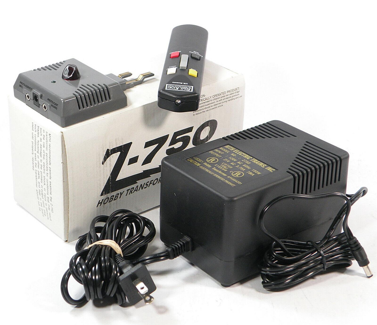 75ワット変圧器とレールIRリモコンシステム