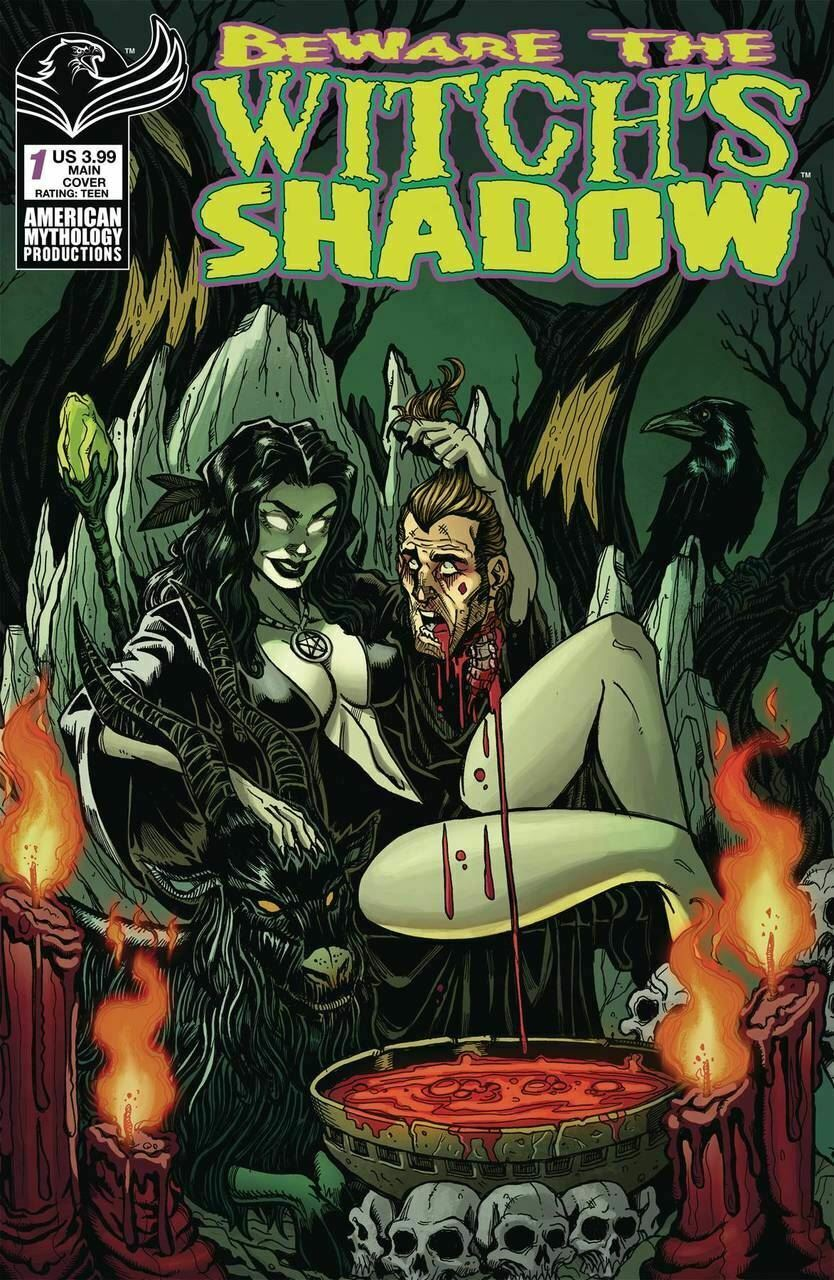 Beware the Witchs Shadow #1 Cover A NM 2019 American Mythology Vault 35