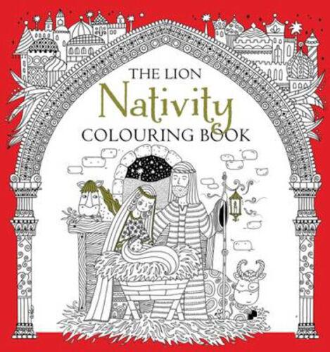 1 of 1 - The Lion Nativity Colouring Book   Antonia Jackson