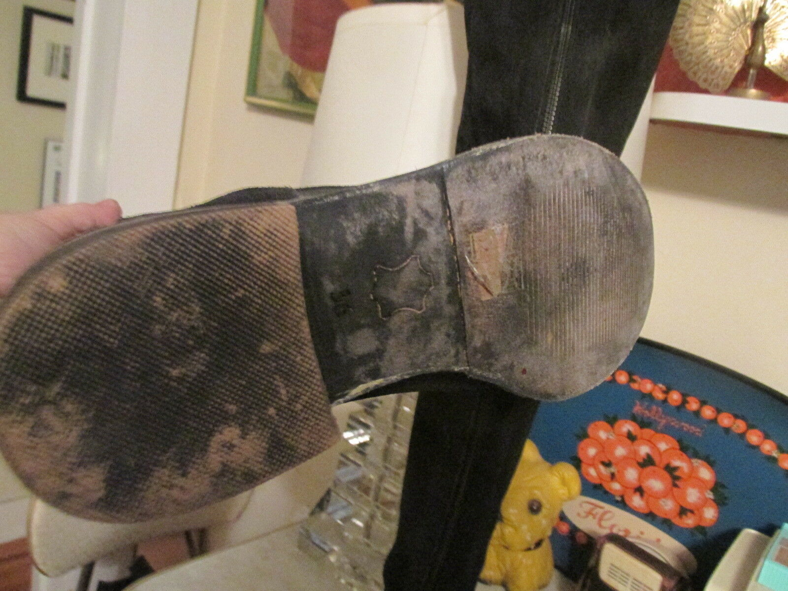 Free People alto Suede sobre la rodilla Nuevo botas talla 36 Nuevo rodilla Sin Caja Cremallera Trasera 5b638b