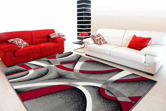 Modern Abstract Area Rug Carpet