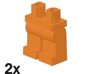 2 pièce nouvelle LEGO MINIFIGUR-jambes entièrement en orange (970c00) 83  </span>