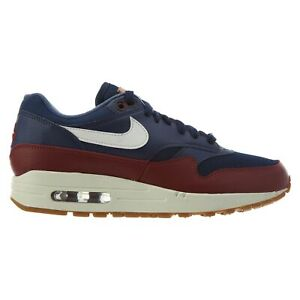 Details about Nike Air Max 1 Mens AH8145 400 Navy Blue Team Red Sail Running Shoes Size 9