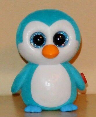 "2018 TY Mini Beanie Boos Series 2 ICE CUBE Penguin Vinyl Figure Hand Painted 2/"""