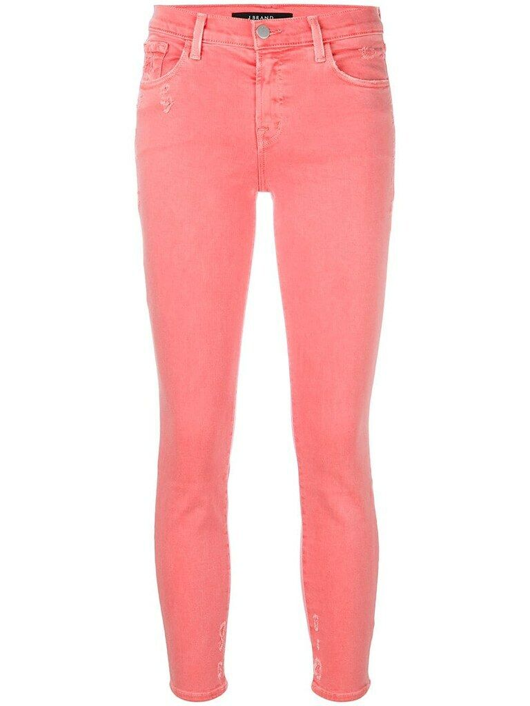 J BRAND femmes Mid Rise 835I563 Jeans Skinny GFaibleing rouge Taille 26W