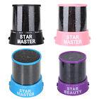Magic Starry Sky Night Kids Gift LED Projector Lamp Star Night Light Cosmos