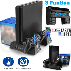 For-PS4-Pro-Slim-Vertical-Stand-Cooling-Fan-Controller-Charging-Dock-Station
