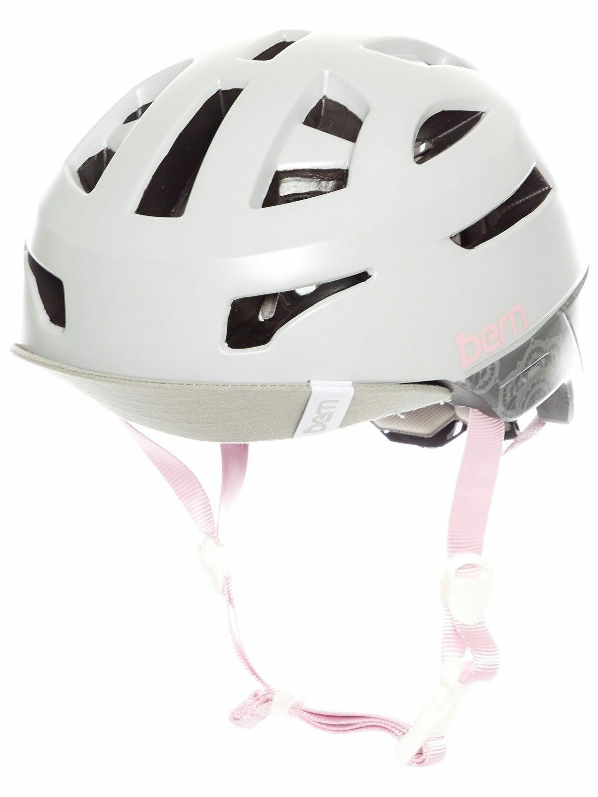 Bern parker mountain bike mtb cycling  bike helmet matte satin grey s m l  high quality genuine