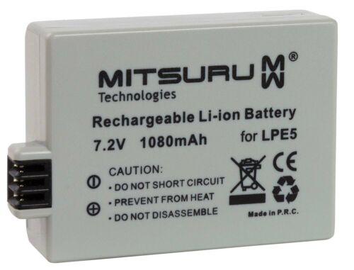 Mitsuru® 1080mAh Batería Canon LP-E5 LPE-5 LPE5
