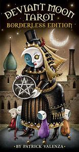 Borderless Deviant Moon Tarot Card Deck, by Patrick Valenza!