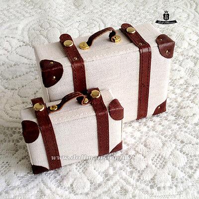 70cm 1/3 1/4 1/6 BJD Suitcase Set Dollfie SOOM DOD AOD DZ SD MSD YOSD Retro Bag