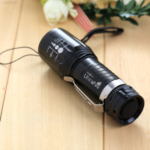 AA83 Taschenlampe  XM-L Für  Light  T6  CREE 2200Lm High Power Zoomable LED