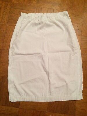 Rock F. Schwangere, Weiß, Größe 3 Von Neuf Lune, Np 65€ Jade Weiß