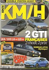 KM/H 63 OPEL ASTRA J GTC OPC 2015 NISSAN SKYLINE 2000 GT-R TALBOT SUNBEAM LOTUS