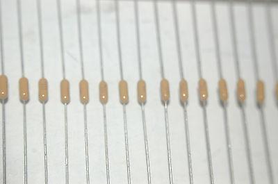 100 pcs AVX .1uF 50V 20/% SA115C104KAA axial MLCC ceramic capacitors US Seller