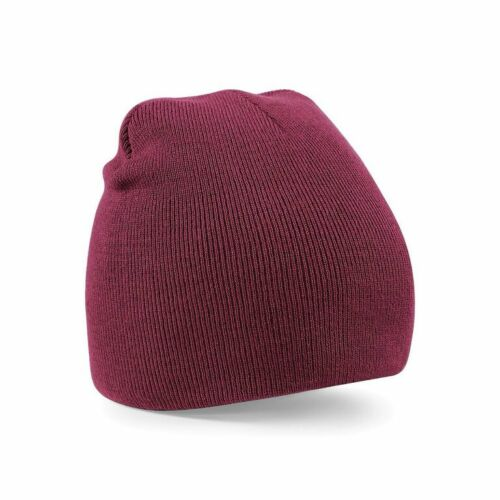 Mens Womens Soft Knitted Winter Original Pull-On Beanie Hat Cap Brand New