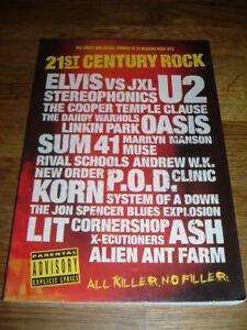 21st Century Rock 35 Rock Moderne Hits Utilisé Très Bon état-afficher Le Titre D'origine êTre Nouveau Dans La Conception