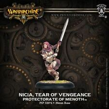 WARMACHINE Protectorate of Menoth PIP32076 Nicia, Tear of Vengeance NEW