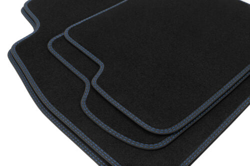 2012 Premium Doppelziernaht Fußmatten für BMW 3er E90 E91 Touring Kombi Limo