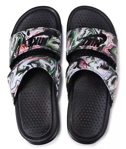 fbe1bbdff51b Nike Benassi Duo Ultra Women s Slides  Marble  819717-003 UK 5.5 EU ...