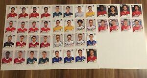 Panini-coupe-du-monde-2018-ensemble-complet-40-images-sans-numero-de-Mc-Donalds-Sacs