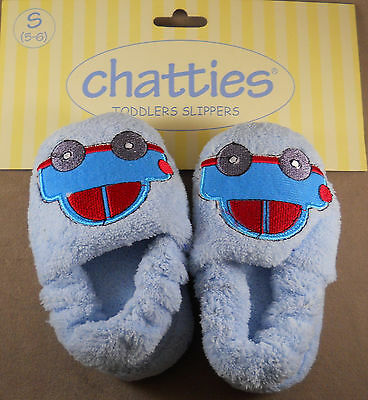 L M Chatties Toddlers Slippers Boys House Shoes New With Tags Size : S XL