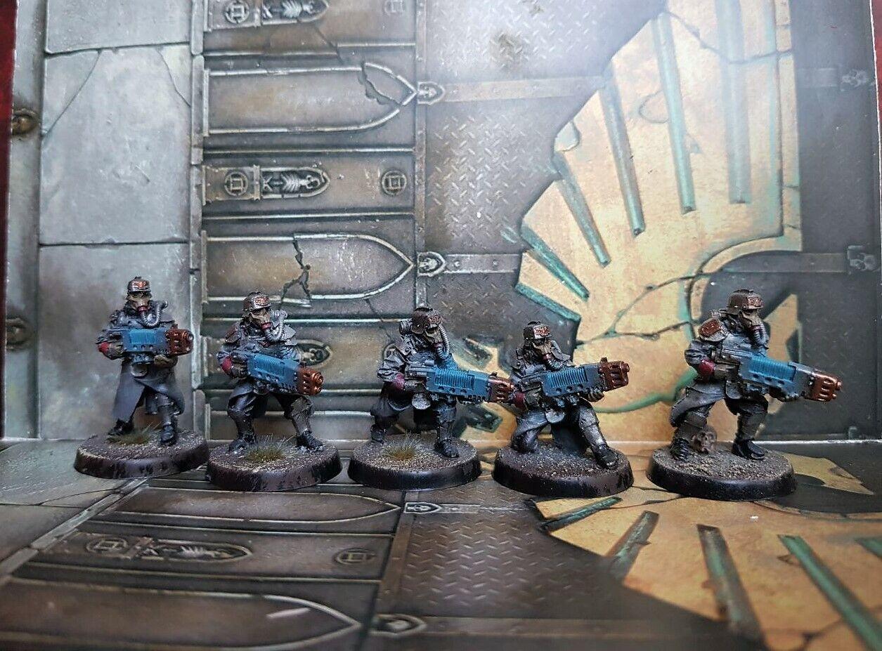 Death  Korps of Krieg Grenadier Squad with Plasma gun exclusive set Warhammer 40k  ordinare on-line