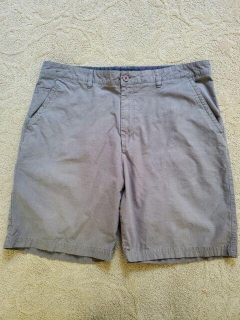 Quicksilver Waterman Collection Shorts Men's Size 40 Grey Gray