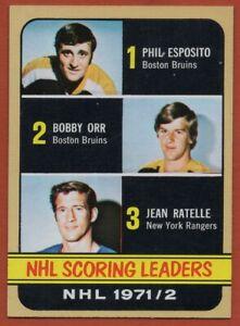 1972-73-Topps-63-Bobby-Orr-Near-Mint-Mint-Phil-Esposito-Jean-Ratelle-Bruins