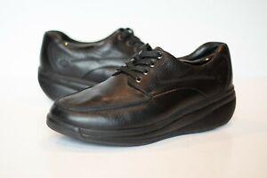 joya cruiser black leather casual lowprofile laceup mens
