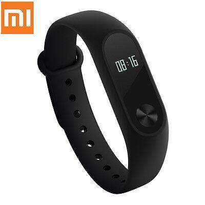 Original Xiaomi Mi Band 2 Heart Rate Monitor Smart Wristband  -  BLACK