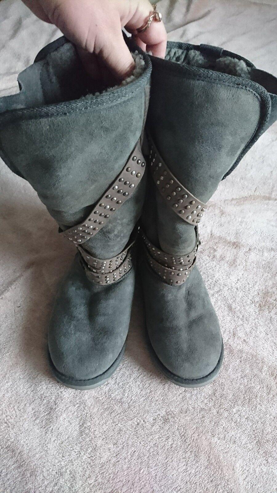 botas de piel de oveja la UEM
