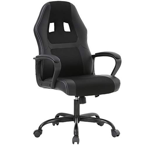 Luxury Office And Gaming Chair, Ergonomic Leather- Executive