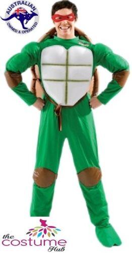 ADULT MENS Licensed Teenage Mutant Ninja Turtle Costume M-XL Superhero