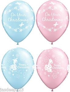 11-034-Christening-Communion-Latex-Balloons-Happy-Party-Decorations-Pink-Blue-Baby