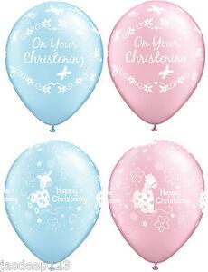 11-034-BATTESIMO-COMUNIONE-Lattice-Palloncini-Happy-Party-Decorazioni-Rosa-Blu-Baby