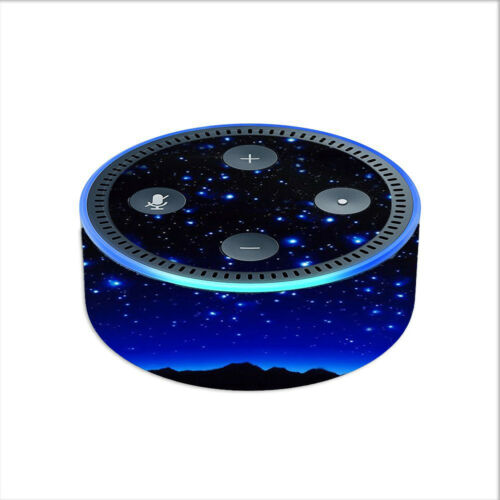 2nd generation // Star Shower Falling Meteors Skin Decal for Amazon Echo Dot 2