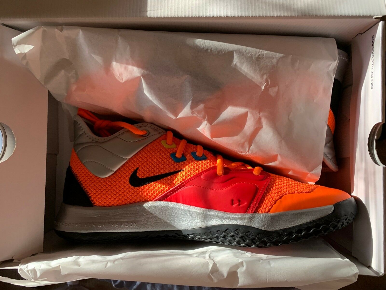 2d2829603eec0d Size 12 Nike Men Air Max 1 Essential shoes 537883 022 Grey bluee Black White