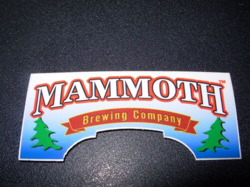 MAMMOTH BREWING COMPANY die cut EPIC STICKER decal craft beer brewing brewery