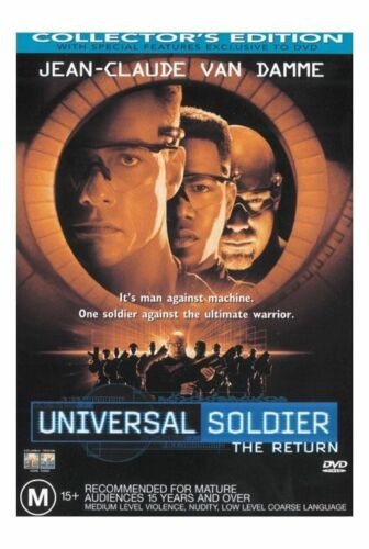 1 of 1 - DVD Movie - UNIVERSAL SOLDIER The Return - Collector Edition - As New - Region 4