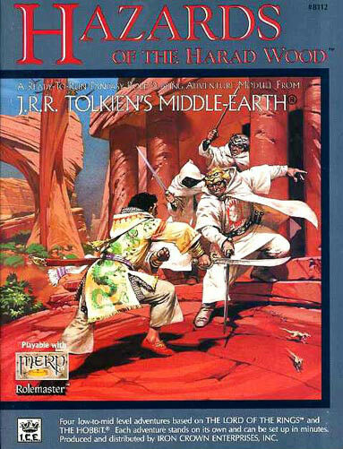 HAZARDS OF THE HARAD WOOD 8112 VF! MERP Module MIDDLE-EARTH J.R.R. Tolkien