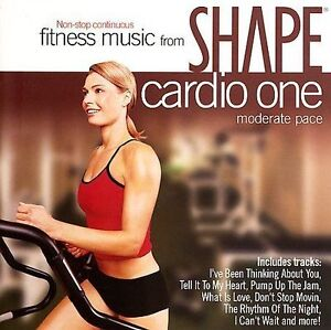 FREE US SHIP. on ANY 3+ CDs! NEW CD Various Artists: Shape Fitness Music: Cardio