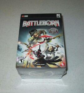 Battleborn With GameStop Exclusive Figure DVD PC Unopened